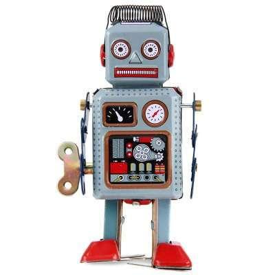оловянный шагающий робот